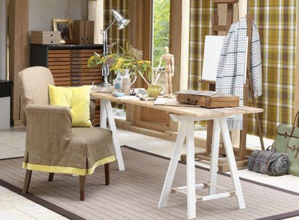 Вдохнут в старую мебель вторую жизнь можно при помощи новых оригинальных чехлов