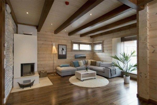 Потолки в частном доме
