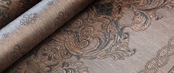 Льняные текстильные обои