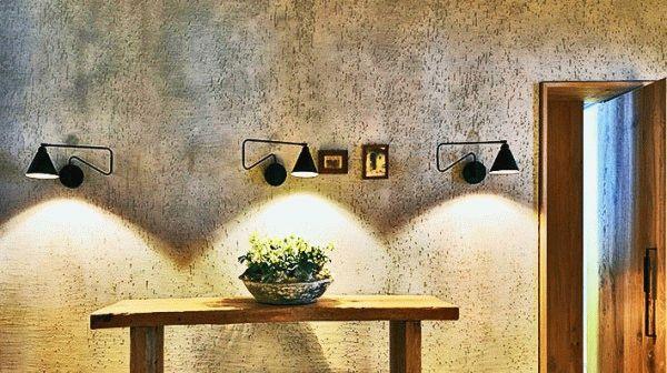 Штукатурка-короед придаст стенам дачного дома некую натуральность и первобытность