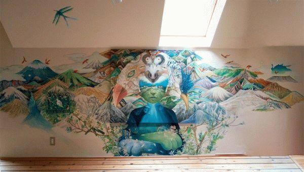 Рисунки на стене - отличный вариант для украшения детской комнаты, но они не должны пугать ваших детей