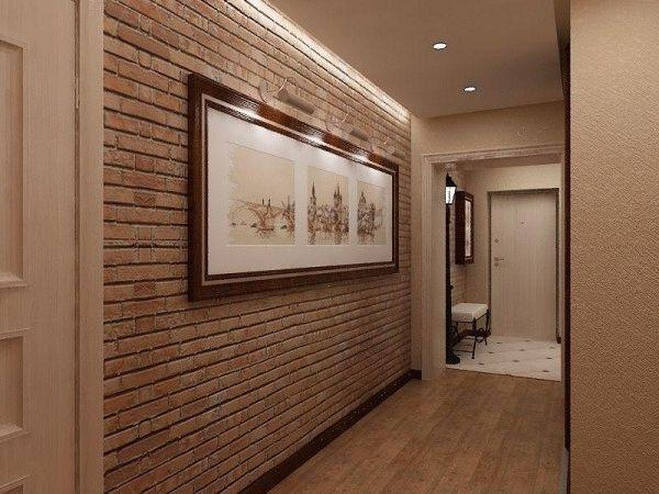 Материалы для отделки стен коридора должны быть практичными и легко поддаваться чистке