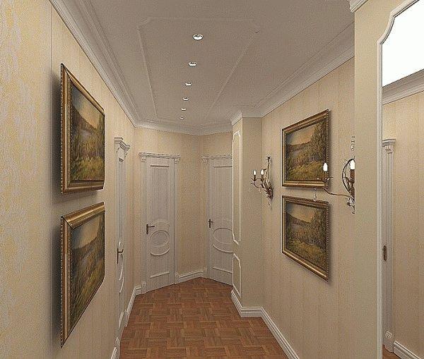 Обои для стен прихожей должны легко поддаваться чистке