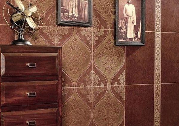 Разнообразие фактур и расцветок настенной плитки позволяет применять ее в интерьере любых помещений