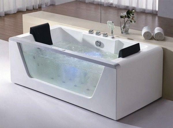 Ванна с гидромассажем - для тех, кто любит ощущать релакс во время ванных процедур