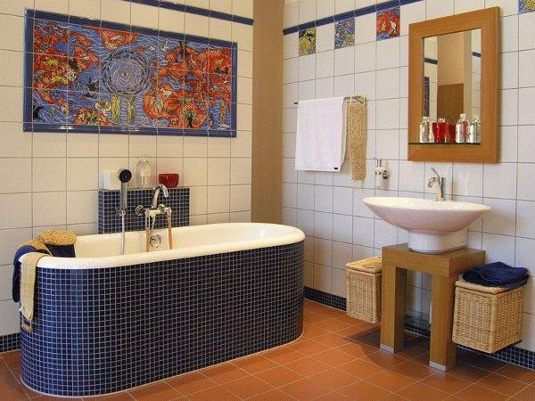 Как дешево отделать ванную комнату