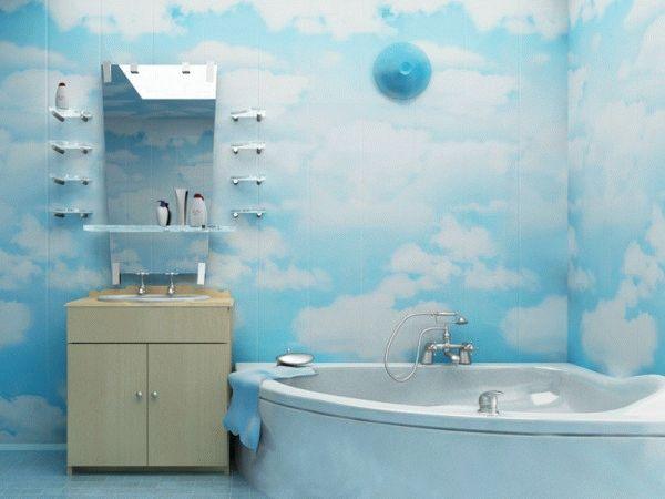 Пластиковые панели - современный бюджетный способ отделки стен и потолка в ванной