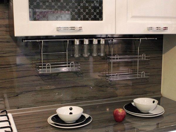 Фартук для кухни из пластика