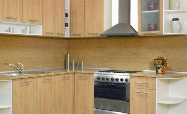 МДФ панели на фартук кухни