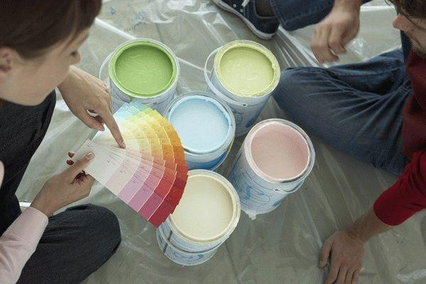 Краски для флизелиновых обоев