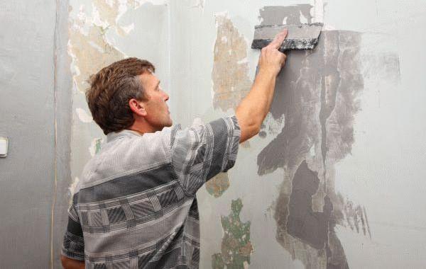 Покраска стен требует тщательной подготовки поверхности
