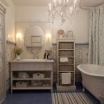 Чем отделать стены в ванной комнате