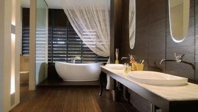 Чем отделать стены в ванной, кроме плитки