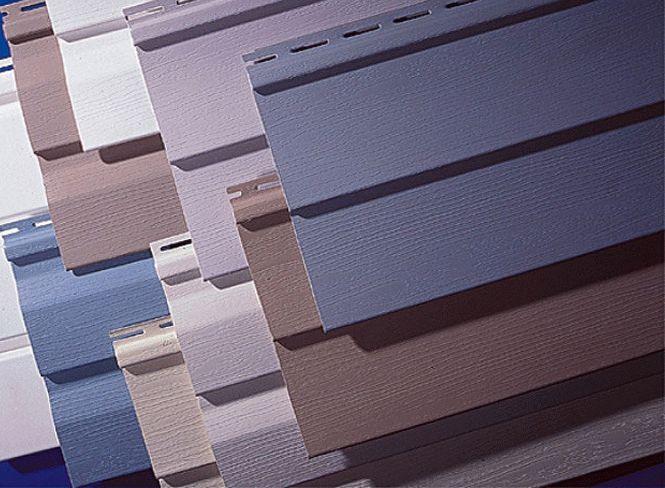 Первоначально сайдинг производился для обшивки фасадов зданий