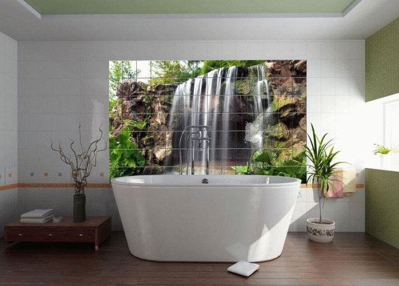 Самоклеящаяся пленка - яркий и доступный метод оформления ванной комнаты