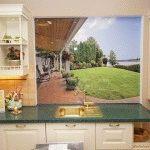 Фартук для кухни из стекла: особенности выбора (фото)