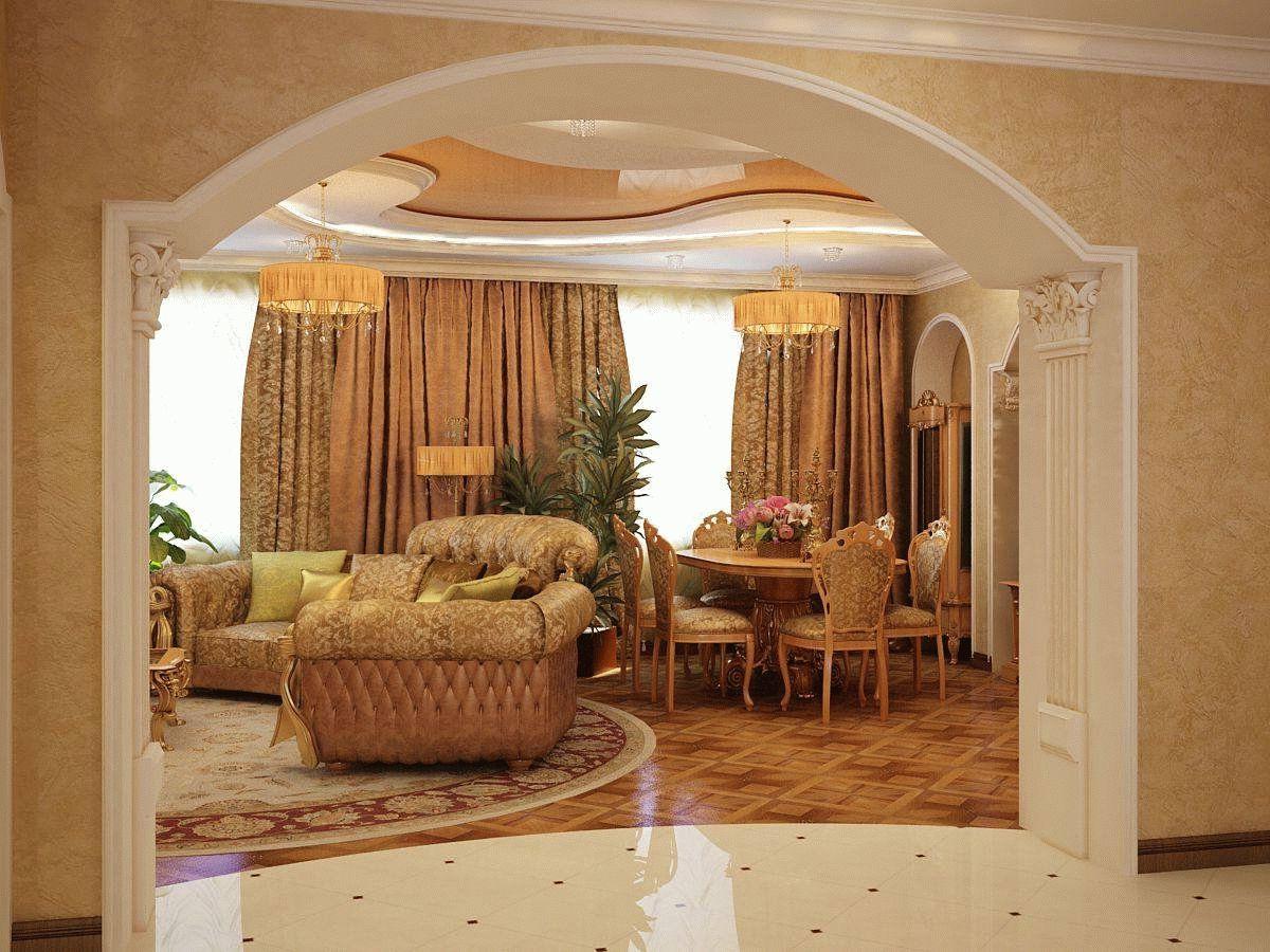 Арки в квартире - это стильно, функционально и практично