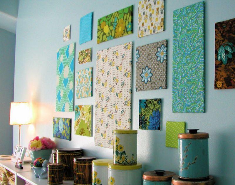 Картины из ткани