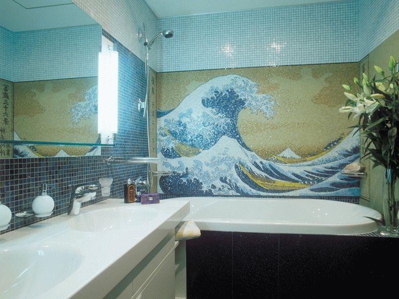 Морские мотивы в ванной