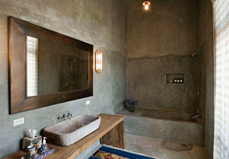 Декоративной отделке под бетон не страшны никакие изъяны и дефекты, поэтому ее не сложно осуществить своими руками