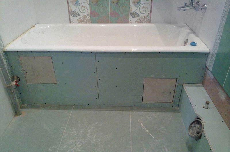 Влагостойкий гипсокартон в ванной комнате: особенности