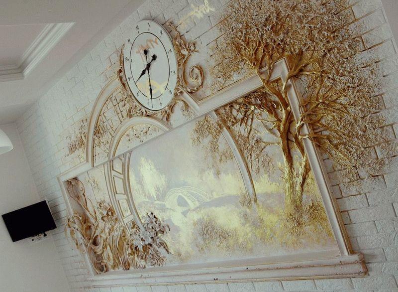 Объемное панно на стену