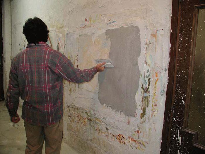 Для создания фрески требуется штукатурка со специальным составом