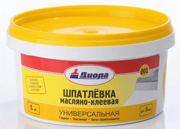 Масляно-клеевая шпатлевка: технические характеристики, состав