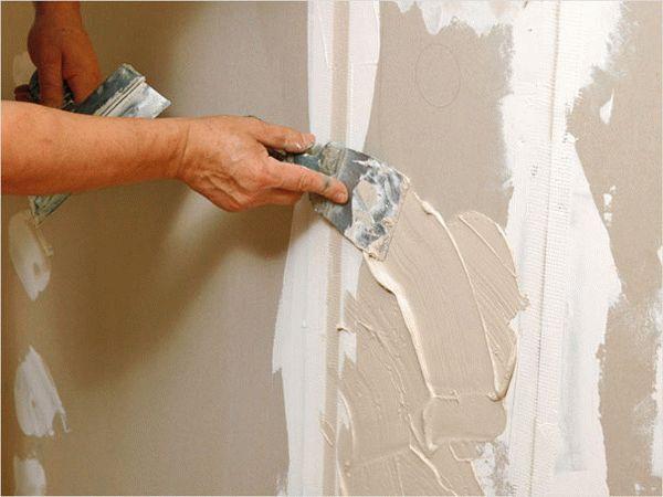 Чтобы отделка была качественной и служила многие годы, шпаклевка гипсокартона является обязательным этапом подготовки к покраске