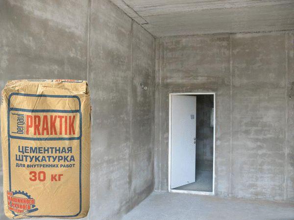 Поклейка обоев на цементную штукатурку не приведет ни к чему хорошему