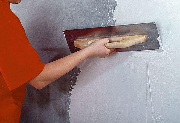 Подготовка стены перед декоративной отделкой