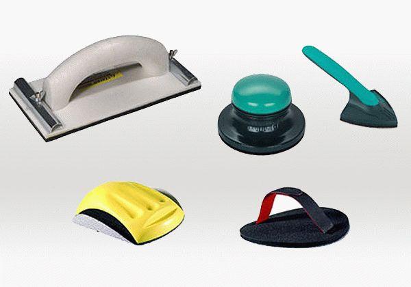 Выбор инструмента для шлифования зависит от площади обрабатываемой поверхности