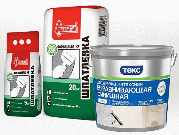 Выбор шпаклевочной смеси для гипсокартона зависит от многих критериев
