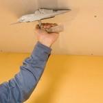 Шпаклевание потолка под покраску