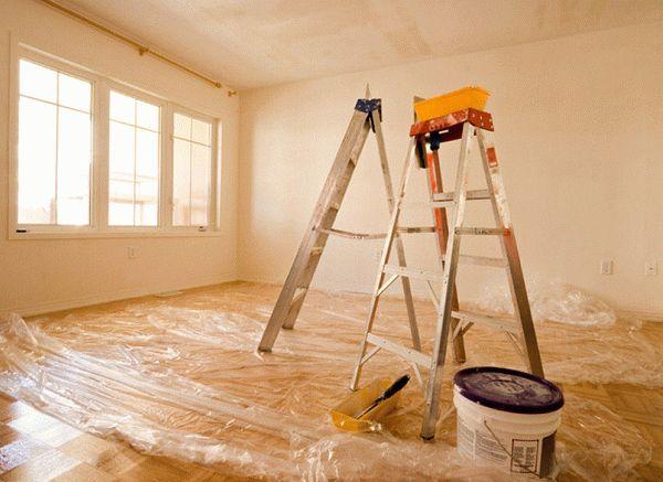 Ремонт нужно начинать с наиболее отдаленных помещений от входа в квартиру