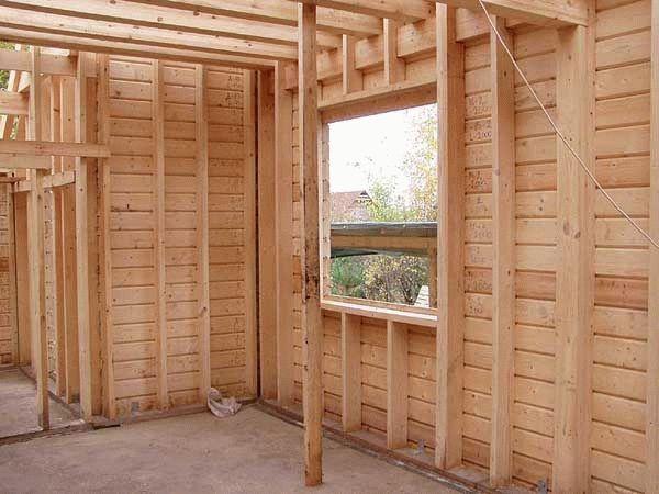 Подготовка стен деревянного дома к чистовой отделке