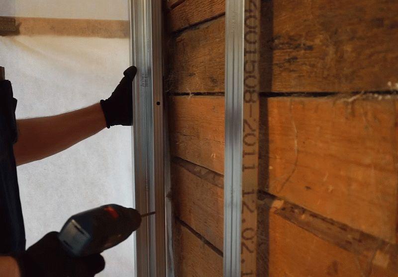 Как обшить стены гипсокартоном в деревянном доме своими руками
