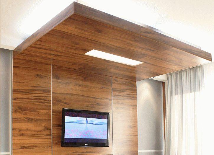 Отделка потолка ламинатом - это способ привнести в интерьер изюминку