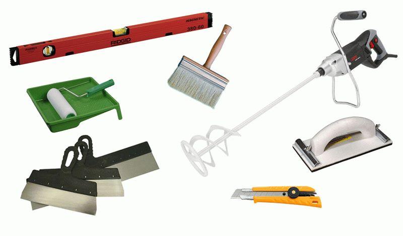 Инструменты для шпаклевания углов