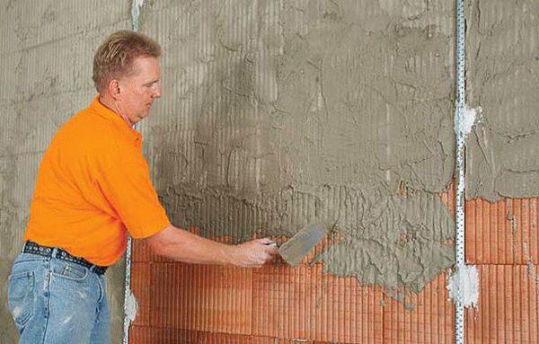 Время высыхания смеси зависит от типа основания, толщины и количества слоев штукатурки