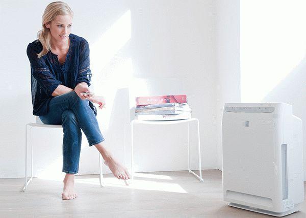 """Профессиональный очиститель воздуха быстро справится с удалением едкого """"аромата""""краски в помещении"""