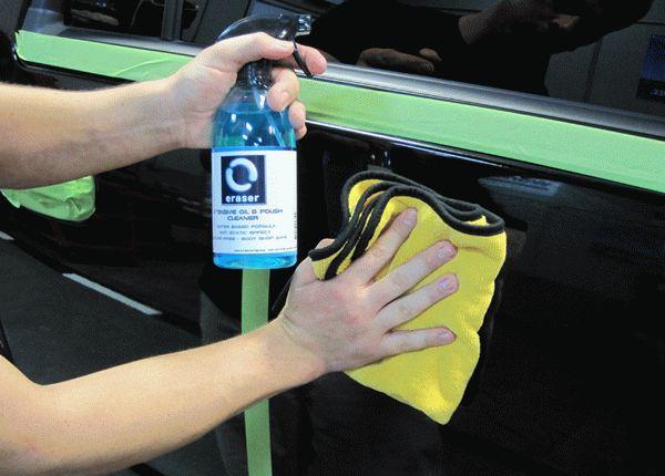 Подготовка пластика к окрашиванию