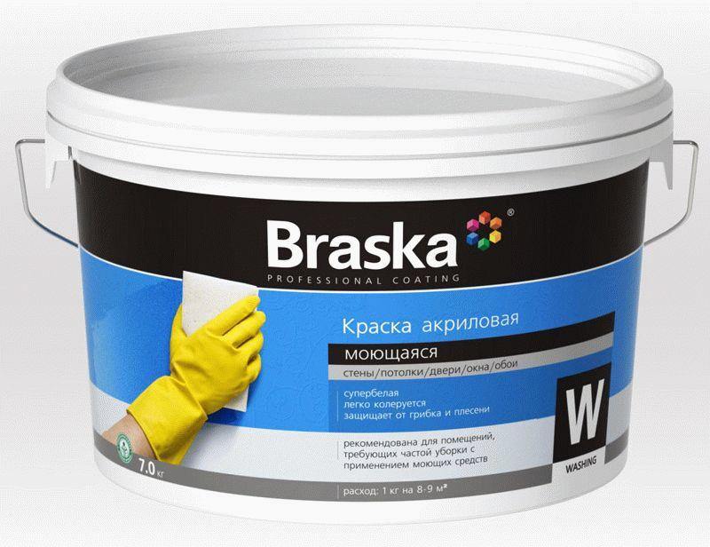 Акриловая водоэмульсионная краска - отличный вариант для окрашивания стен в комнате