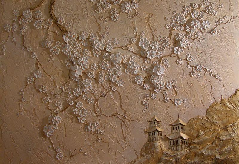 Барельеф на стене - это отличный вариант для создания стильного и уникального интерьера