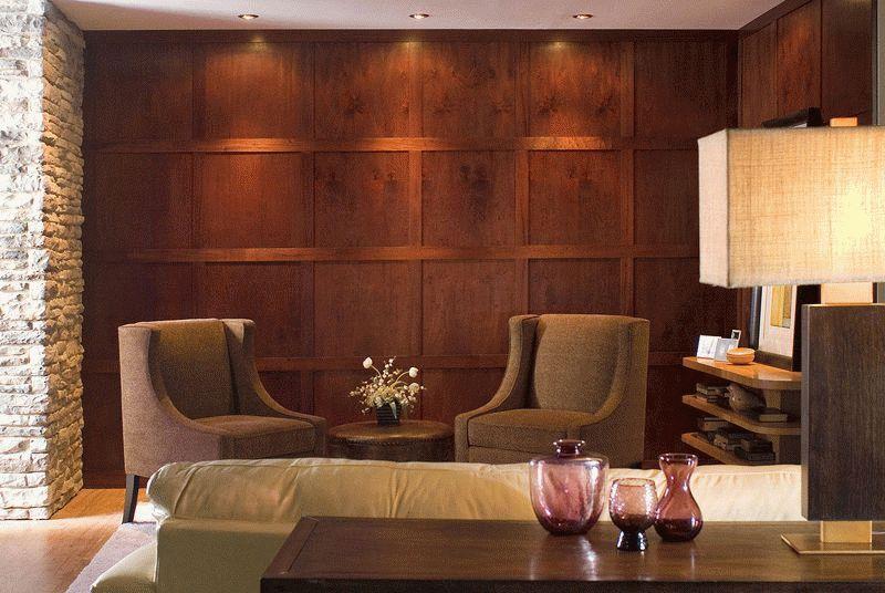 Декоративные панели для стен из древесины