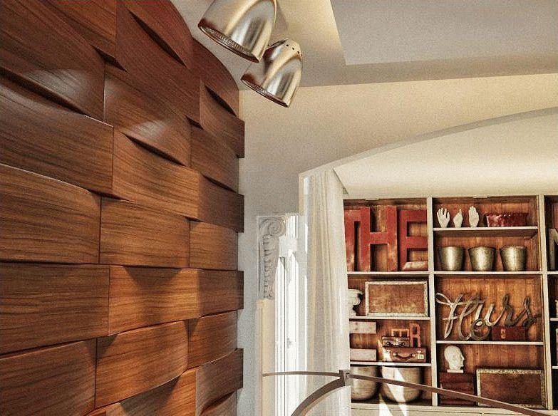 Декоративные панели для стен имеют множество преимуществ