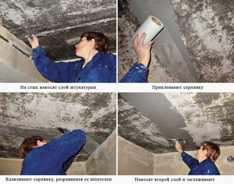 Пошаговая инструкция заделки швов между бетонными плитами