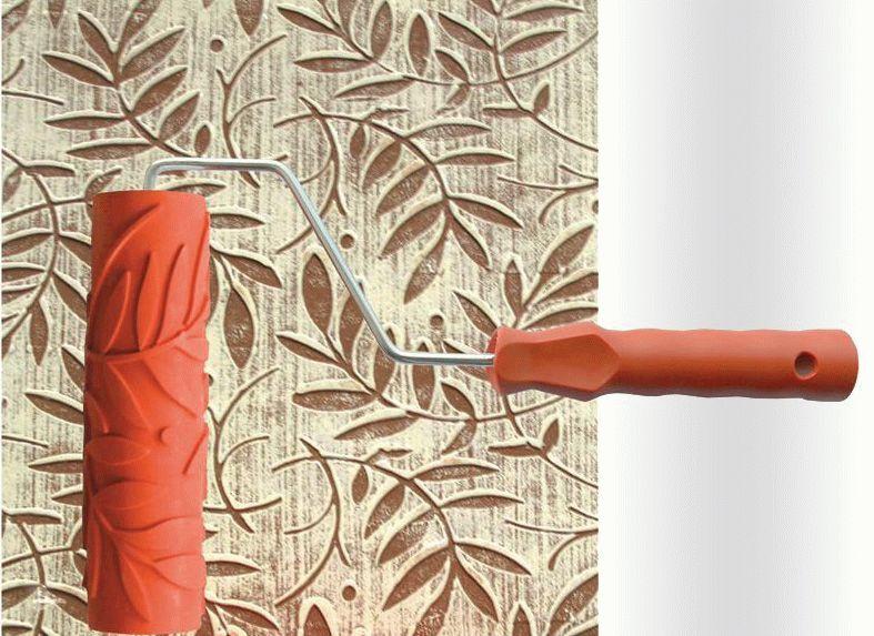 Отличным вариантом для создания необычной и уникальной текстуры будет применение штампов