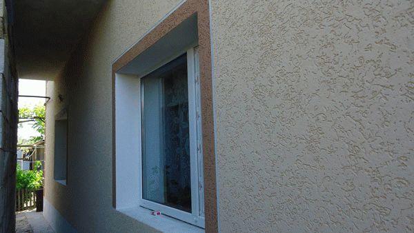 Штукатурка короед отделка фасада