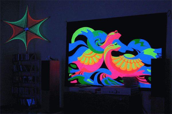 Флуоресцентная картина